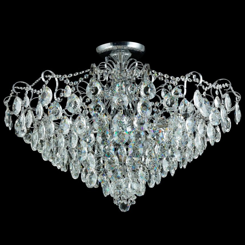 Люстра Crystal Lux CONTESSA PL 12 CHROME