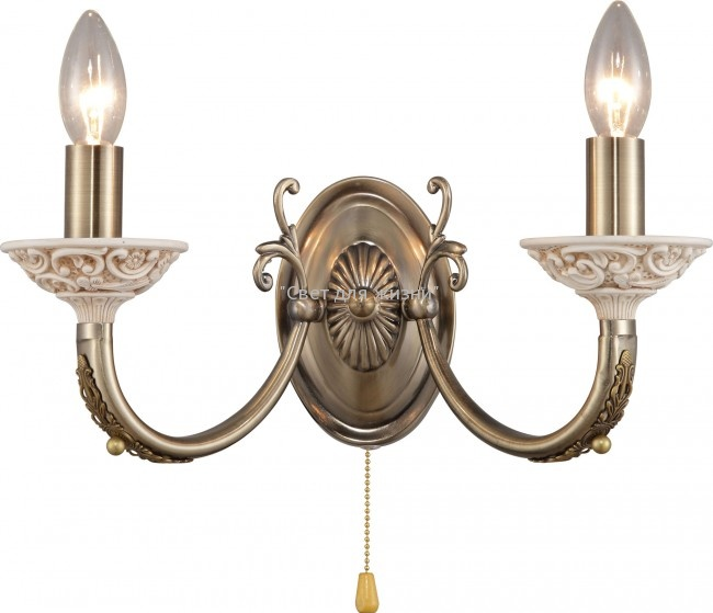 Бра ALTALUSSE INL-6113W-02 Antique brass